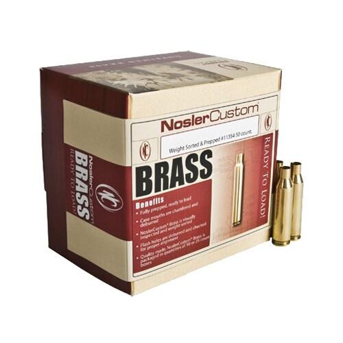 Nosler Custom Reloading Brass 28 Nosler, Per 25