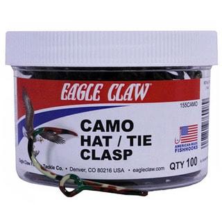 Eagle Claw Camo Hat/tie Clasp Jar
