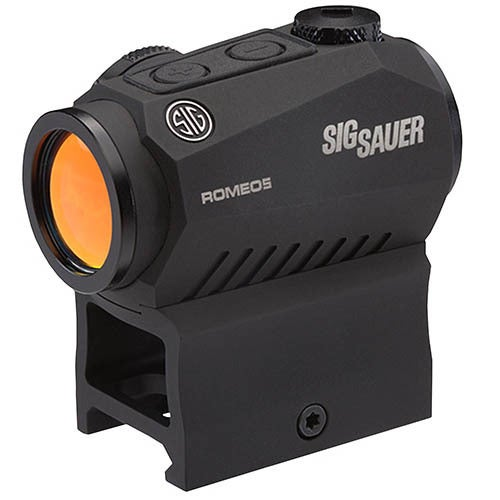 Sig Sauer Romeo5 Compact Red Dot Sight 1x20mm, 2 MOA Red Dot Reticle, Graphite