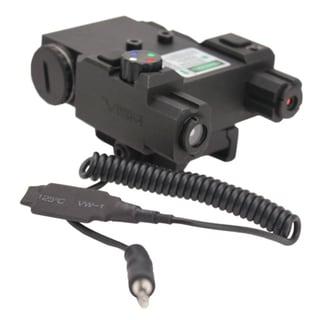 NcStar Green Laser 4X LED Nav Light Box/QR Mount Black