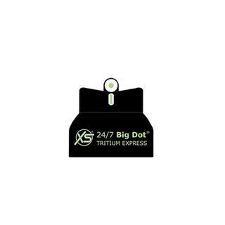 "XS Sight Systems XS 24/7 Big Dot Tritium Express Sight Set Novak 1911 5"""