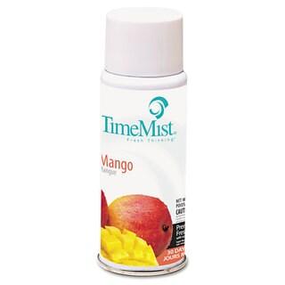 TimeMist Settings Micro Metered Aerosol Refills Mango 2oz, 12/Carton