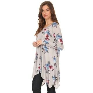 Women's Floral Pattern Tunic