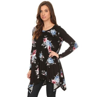 Women's Floral Pattern Tunic