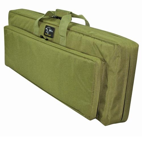 "Galati Gear Double Discreet Square Rifle Case 38"", Olive Drab"