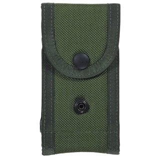 Bianchi M1025 Military Double Magazine Pouch Olive Drab, Size 02