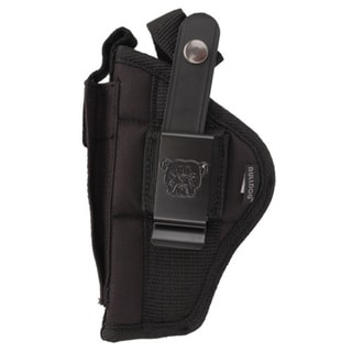 Bulldog Cases Belt Holster, Ambidextrous Fits Standard Auto 2-4""