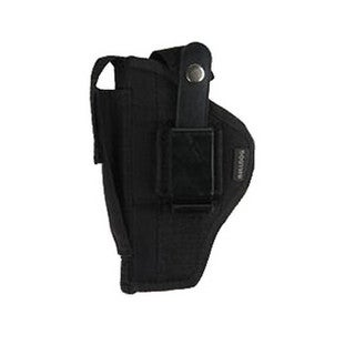 Bulldog Cases Belt Holster, Ambidextrous Fits Ruger Mark Style Autos 5-6.88""