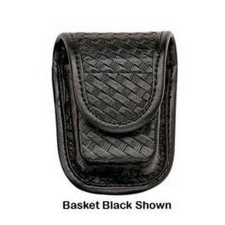 Bianchi 7915 AccuMold Elite Pager/Glove Pouch Hidden Snap, Basket Black