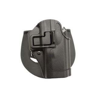 Blackhawk! Serpa CQC, Belt & Paddle Holster, Plain Matte Black Finish Taurus 24/7, Right Hand