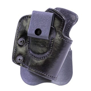 Frontline Inside Outside Multi Function Leather Holster Sig Sauer Pro 2022, Ambidextrous , Brown with Suede Lining
