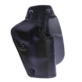 Frontline 3 Layer Synthetic Leather Paddle Holster Browning Hi Power, Black, Right Hand
