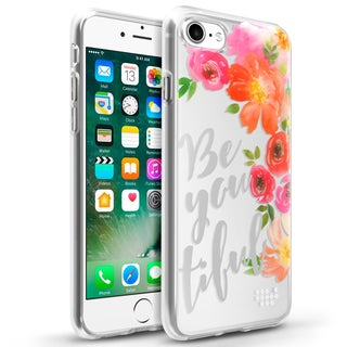 Insten BeYouTiFul TPU Rubber Candy Skin Case Cover for Apple iPhone 7