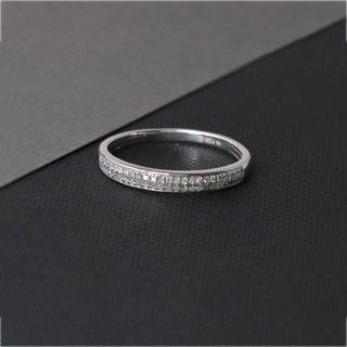 1/6ct TDW Diamond Vintage Style Ring in Sterling Silver