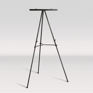 Offex Black Adjustable-height Jumbo Presentation Easel