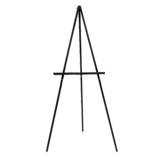 Offex Black Wood Adjustable-height Studio Display Easel