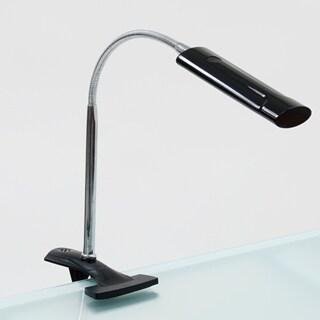 Offex Black Home Indoor Art Clamp Lamp