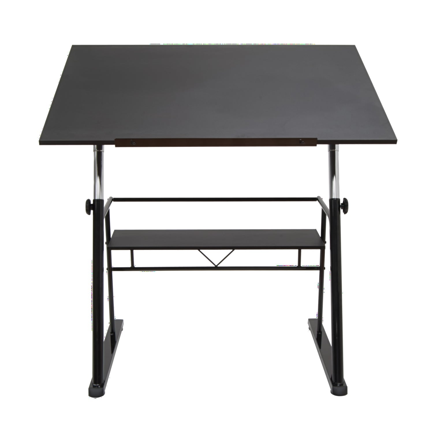 Offex Zenith Drafting Table - Black (Black)