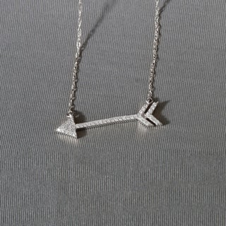 1/8ct TDW Fashion Necklace in Sterling Silver - White