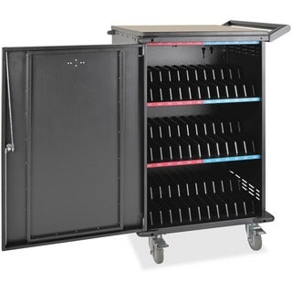 Tripp Lite 36-Port AC Charging Cart Storage Station Chromebook Laptop