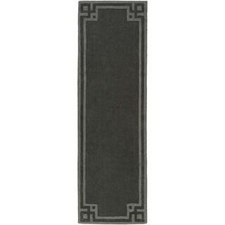 Handmade Amaris Wool Rug (2'6 x 8')