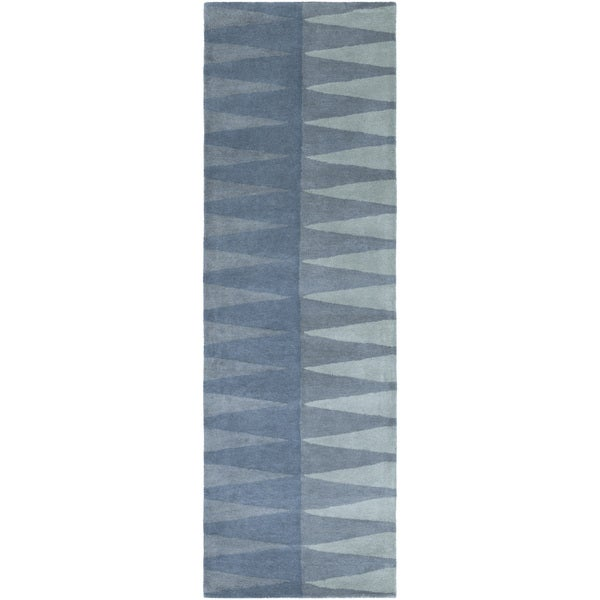 Hand-Tufted Gravia Wool Rug (2'6 x 8')