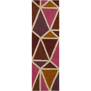 Hand-Tufted Sarand Wool Rug (2'6 x 8')
