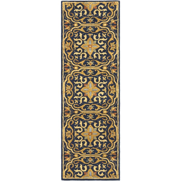 """Hand-Tufted Deptford Wool Area Rug - 2'6"""" x 8'"""