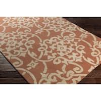 Hand-Tufted Astor Wool Area Rug - 4' x 6'
