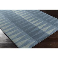 Hand-Tufted Gravia Wool Area Rug - 4' x 6'