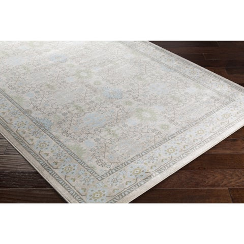 Copper Grove Dalewood Classic Damask Area Rug