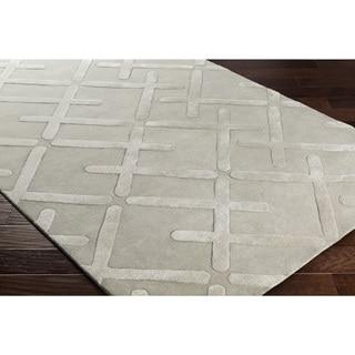 "Hand-Tufted Daphnis Wool Rug (5' x 7'6"")"