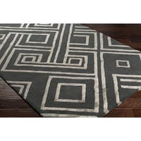 "Hand-Tufted Salerno Wool Area Rug - 5' x 7'6"""