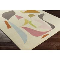 Palm Canyon Campeon Hand-tufted Wool Area Rug - 5' x 7'6
