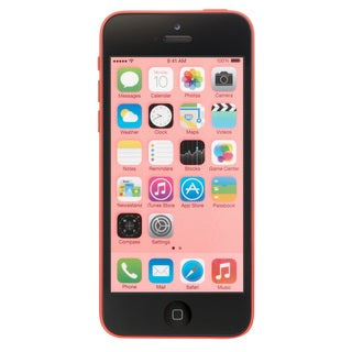 Apple iPhone 5c 16GB Unlocked GSM 4G LTE Dual-Core Phone w/ 8 MP Camera-Pink (Refurbished)