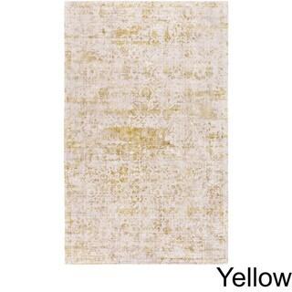 Handmade Ashburton Viscose Area Rug (5 x 76 - Yellow)