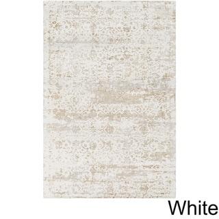 Handmade Ashburton Viscose Area Rug (5 x 76 - White)
