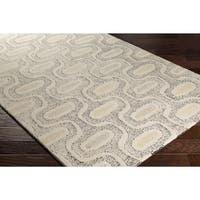 Palm Canyon Olinda Hand-tufted Wool Area Rug - 5' x 7'6