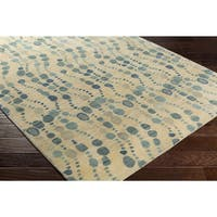 Hand-Tufted Enoc Wool Area Rug - 5' x 7'6""