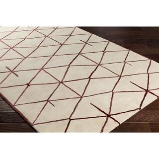 Hand-Tufted Peregrine Wool Rug (5' x 8')