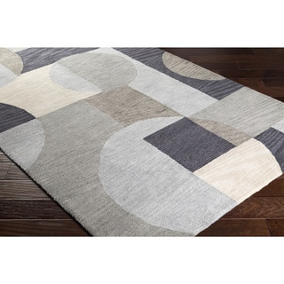 "Hand-Tufted Kosumi Polyester Rug (5' x 7'6"")"