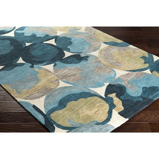 "Hand-Tufted Zulia Polyester Rug (5' x 7'6"")"