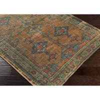 The Curated Nomad Everson Hand-woven Jute Area Rug - 5'x 7'6