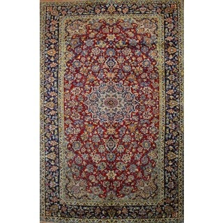 Hand Knotted Authentic Persian Najafabad Rug (6'9 x 10'5)