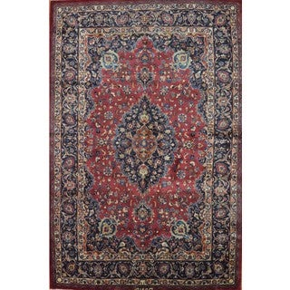 Hand Knotted Authentic Persian Saveh Rug (6'5 x 9'5)
