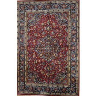 Hand-knotted Authentic Persian Najafabad Rug (6'4 x 9'6)