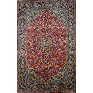 Hand Knotted Authentic Persian Najafabad Rug (6'8 x 10'7)