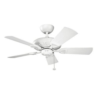 Kichler Lighting Kevlar Collection 42-inch Matte White Ceiling Fan