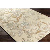 Hand-Tufted Demaree Wool Area Rug - 5' x 7'6""