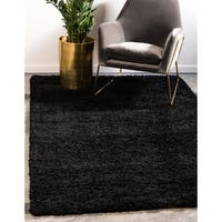 Unique Loom Solid Shag Area Rug - 10' x 13'